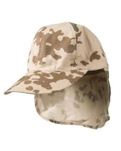 Tropical Camo Field Cap with Flap