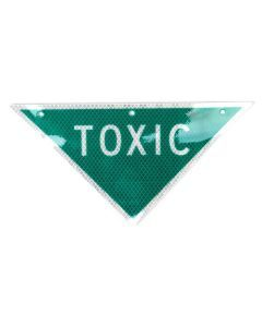 Toxic Hazard Warning Sign