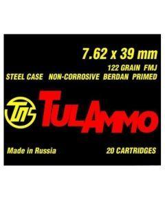 Tula 7.62x39 Ammo
