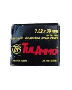 Tula 7.62x39mm 124gr Ammo