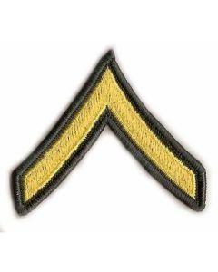 US Army Private E2 Insignia Pair