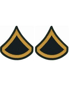 US Army Private First Class Insignia Pair