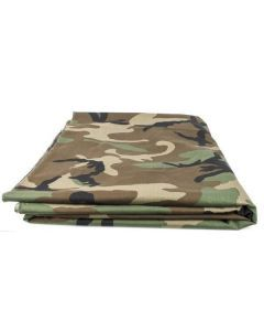US Military Woodland Camouflage Fabric