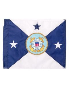 US Coast Guard Vice Commandant Vehicle Flag