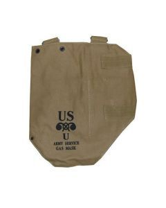U.S. M3A1 Gas Mask Bag – Reproduction WWII Gas Mask Bag