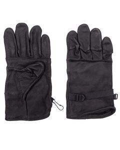US Military Black Leather Gloves
