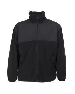 US Military Black Polartec Fleece Jacket
