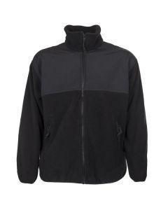 US Military Black Polartec Fleece Jacket