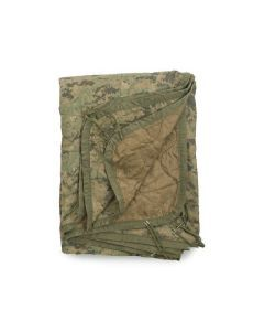US Military Wet Weather Poncho Liner - MARPAT / Brown