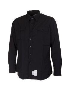 US Navy Winter Blue Shirt - Johnny Cash Shirt - For Sale
