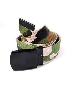 US Style Woodland Camo Belt