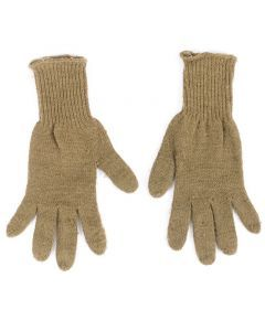USGI Cold Weather Wool Glove Inserts - Coyote