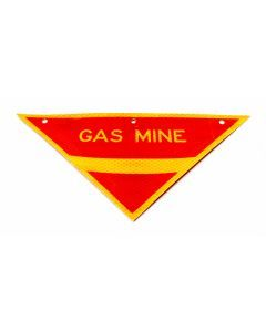 Gas Mine Warning Sign