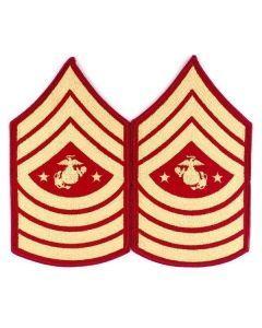 USMC Sergeant Major Insignia Pair
