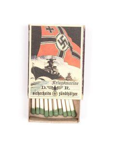 Vintage Kriegsmarine Matchbox