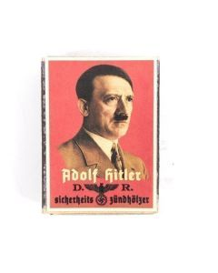 Vintage German Adolf Hitler Matchbox
