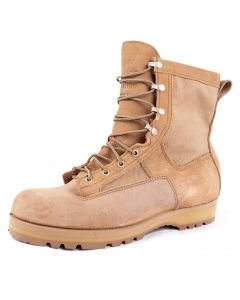 WELLCO US Army Temperate Weather Desert Tan Combat Boots