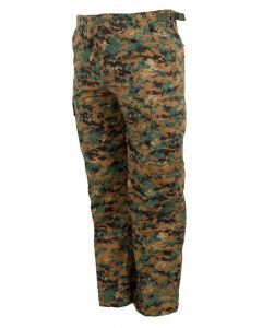 West African Guinea-Bissau Army Combat Pants - Woodland Camo