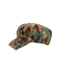 West African Guinea-Bissau Army Field Cap - Woodland Camo