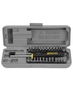 Wheeler Space Saving Gunsmith Screwdriver Set