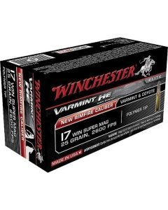 Winchester .17 Winchester Super Magnum - S17W20