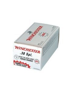 Winchester .38 Special Value Pack – 100 Rounds of 130 gr FMJ Ammunition