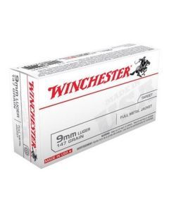 Winchester 9x19mm 147 Grain Ammo - USA9MM1
