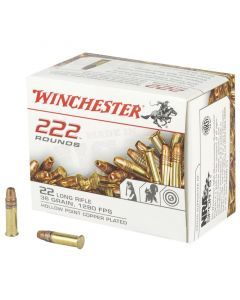 Winchester Rimfire 22 LR 222 Rounds | 36Gr | Hollow Point | 22LR222HP