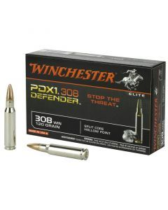 Winchester PDX1 Defender 308 Winchester 20 Rounds | 120Gr | Hollow Point | S308PDB