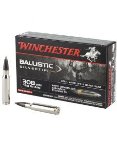 Winchester Ballistic Silvertip 308 Winchester 20 Rounds | 168Gr | Poly Tip | SBST308A