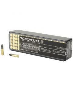 Winchester Super Suppressed Rimfire 22 LR 100 Rounds | 45Gr | Copper Plated Round Nose | SUP22LR