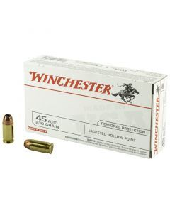 Winchester .45 ACP JHP (230gr)