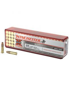 Winchester Power Point Super-X 22 LR 100 Rounds | 40Gr | Plated Power Point | X22LRPP1