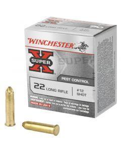 Winchester Super-X 22 LR 50 Rounds | #12 | Shot | X22LRS