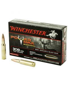 Winchester Power Max Bonded 308 Winchester 20 Rounds | 150Gr | Hollow Point | X3085BP