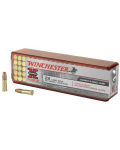 Winchester Hyper Velocity 22 LR 100 Rounds | 40Gr | Plated HollowPoint | XHV22LR