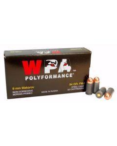 WPA 9x18 Ammunition - 50 Round Box