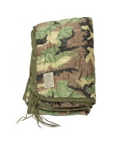 Woodland Camouflage Wet Weather Poncho Liner