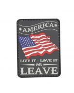 America Love It Or Leave It Morale Patch