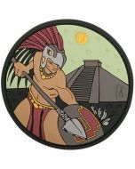 Aztec Warrior Morale Patch