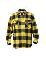 Buffalo Plaid Flannel Shirt - Extra Heavyweight - Yellow Plaid