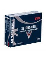 CCI 22LR Tactical AR Ammo