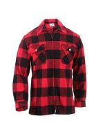 Concealed Carry Flannel Shirt - Red
