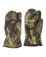 Czech Army Trigger Finger Mittens - 95 Camo