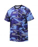 Electric Blue Camo T-Shirt