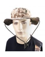 Mil-Tec Reversible Boonie Hat - Tropical Camo