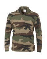 French Army Camouflage Polar Fleece Shirt