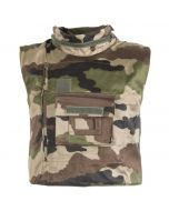 French Military Flak Vest - CCE Woodland Camouflage
