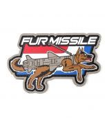 Fur Missile PVC Patch