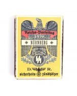 Vintage German Nurnberg Rally Matchbox